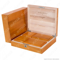 Spliff Box Deluxe T5 Stazione di Rollaggio in Legno - Wolf Production Original Roll Tray