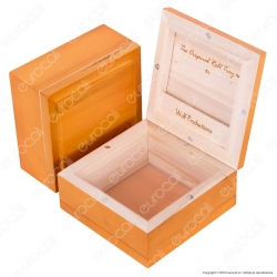 Sifting Box Deluxe X1 Stazione in Legno con Setaccio - Wolf Production Original Roll Tray