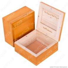 Spliff Box Deluxe T4 Stazione di Rollaggio in Legno - Wolf Production Original Roll Tray