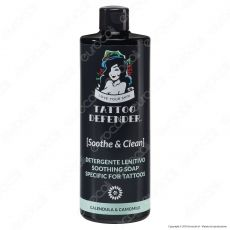 Tattoo Defender Soothe & Clean - Bottiglietta da 500ml