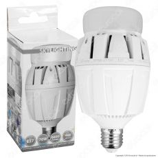 SkyLighting Lampadina LED E27 70W Hi-Power Bulb per Campane Industriali