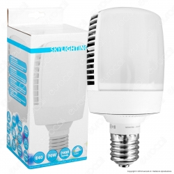 SkyLighting Lampadina LED E40 70W High-Power Bulb per Campane Industriali - mod. M105-4070