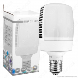 SkyLighting Lampadina LED E40 100W High-Power Bulb per Campane Industriali - mod. M105-40100