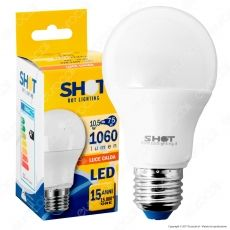 Bot Lighting Shot Lampadina LED E27 10,5W Bulb A60