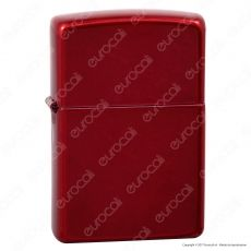 Accendino Zippo Mod. 21063 Candy Apple Red - Ricaricabile Antivento