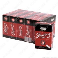 Smoking Slim 6mm Easy Rolling - Box 5 Scatoline da 150 Filtri