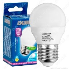 Duralamp Decoled Up Lampadina LED E27 6W MiniGlobo G45