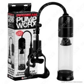 Pipedream Pump Worx Ultimate Head Job Vibrating - Sviluppatore per il Pene a Pompa con Vibrazione