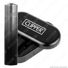 Clipper Metal Large in Metallo Black Gradient - 1 Accendino