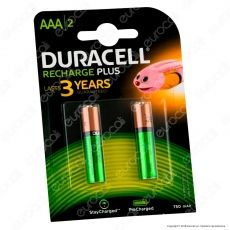 Duracell Value Precharged 750mAh Pile Ricaricabili Ministilo AAA - Blister 2 Batterie