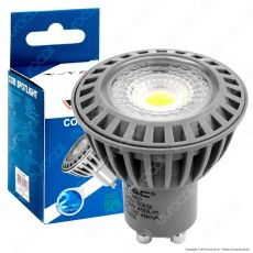 V-Tac VT-1860 D Lampadina LED GU10 6W Faretto Spotlight Dimmerabile - SKU 1627 / 1643 / 1644