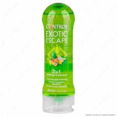 Control Exotic Escape Gel Massaggio Intimo e per Massaggi Idratante - 200ml