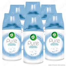 Kit Risparmio Air Wick Pure Freshmatic Soffice Cotone - 5 Ricariche Spray da 250ml cad.