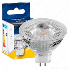 Bot Lighting Shot All Glass Lampadina LED GU5.3 (MR16) 6,2W Faretto Spotlight 60°