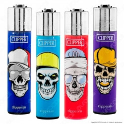 Clipper Large Fantasia Skull Hats 2 - 4 Accendini