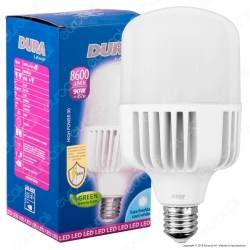 Duralamp Lampadina LED E40 90W High-Power Bulb per Campane Industriali - mod. L9064HP2