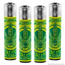Clipper Large Fantasia Legalize It Leaf - 4 Accendini