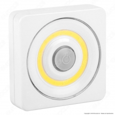 Velamp Touch LED a Batteria con Interruttore in Gomma - mod. 39.LED3342