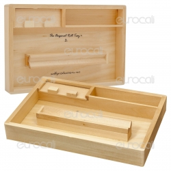 Roll Tray Stazione di Rollaggio in Legno J2 - Wolf Production Original Roll Tray