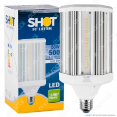 Bot Lighting Lampadina LED E27 50W High Power Tubolare - mod. SLD9950X3
