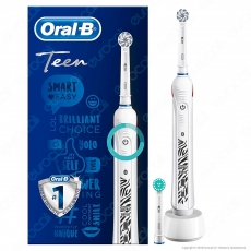 Oral B Smart Series Teen Spazzolino Elettrico Ricaricabile Braun con Bluethooth Oral B - 1