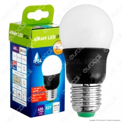 Bot Lighting Airam Lampadina LED E27 5W Bulb Impermeabile IP54 - mod. 4711356