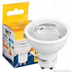 Bot Lighting Shot Lampadina LED GU10 4,8W Faretto Spotlight 36° - mod. ELD610532 / ELD610533 / ELD610531