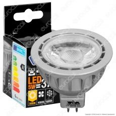 Wiva Lampadina LED GU5.3 (MR16) 5W Faretto Spotlight - mod. 12100206 / 12100207