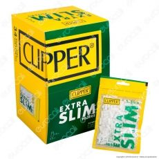 Clipper Extra Slim 5,5mm Lisci - Box 34 Bustine da 165 Filtri