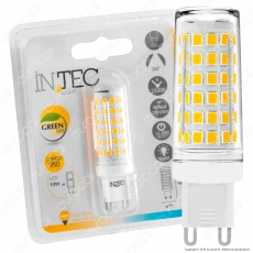 Fan Europe Intec Light Lampadina LED G9 10W Bulb - mod. KLASSIC-G9-10C / KLASSIC-G9-10M
