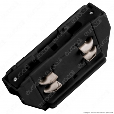 V-Tac Connettore a 4 Poli Colore Nero per Track Light - SKU 3656