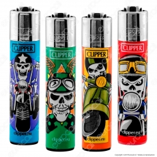 Clipper Large Fantasia Skull Ride - 4 Accendini