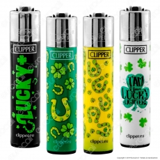 Clipper Large Fantasia Lucky - 4 Accendini