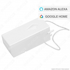 V-Tac VT-5130 Ricevitore Wi-Fi per App V-Tac Smart con Supporto per Amazon Alexa e Google Home - SKU 8459