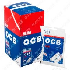 Ocb Slim 6mm - Box 34 Bustine da 120 Filtri