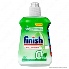 Finish Brillantante 0% per Lavastoviglie - 250 ml