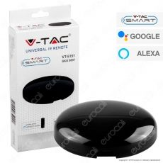 V-Tac Smart VT-5151 Universal IR Remote Compatibile con Amazon Alexa e Google Home- SKU 8651