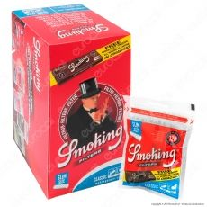 Smoking Slim 6mm - Box da 30 Bustine Da 120 Filtri + 60 Cartine Corte Brown