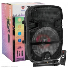 V-Tac Audio VT-6208 Wireless Speaker Karaoke