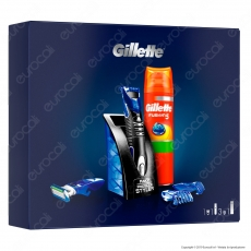 [EBAY] Gillette Styler Set Regalo Con Styler E Gel Da Barba Fusion5 Sensitive - 1