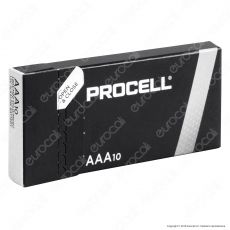 Procell Duracell Industrial Alcaline Ministilo AAA - Box 10 Batterie