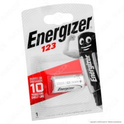 Energizer Lithium CR123 Pila Al Litio - Blister 1 Batteria