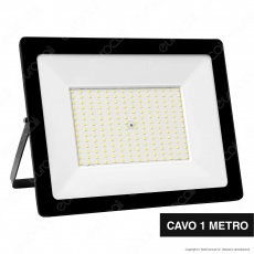 Sure Energy Faro LED SMD 150W IP65 Ultrasottile Colore Nero - mod. T236