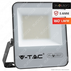 V-Tac Evolution VT-4961 Faro LED SMD 50W High Lumens IP65 da Esterno Colore Nero - SKU 5918 / 5919