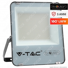 V-Tac Evolution VT-49161 Faro LED SMD 100W High Lumens IP65 da Esterno Colore Nero - SKU 5920 / 5921