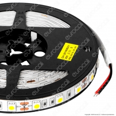 Sure Energy Striscia LED SMD 5050 14,4W/m 12V Monocolore 120 LED/metro - Bobina da 5 metri - mod. T655 / T654
