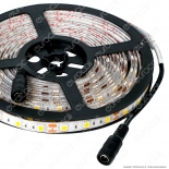 Sure Energy Striscia LED SMD 5050 12W/m 12V Monocolore 60 LED IP65 - Bobina da 5 metri - mod. T657