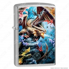 Accendino Zippo Mod. 49104 Anne Stokes Fly - Anne Stoker Collection - Ricaricabile Antivento
