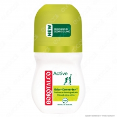 Borotalco Deodorante Roll-On Active Cedro & Lime - Flacone da 50ml