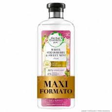 Herbal Essences Shampoo Capelli Fragola Bianca e Menta Dolce - Flacone da 400ml